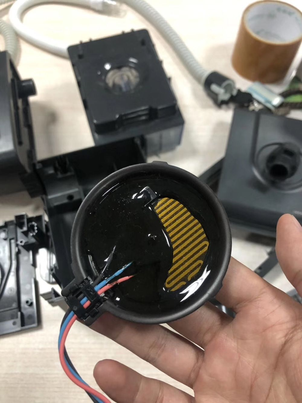 飞利浦伟康60系列呼吸机加湿器加热板故障维修
